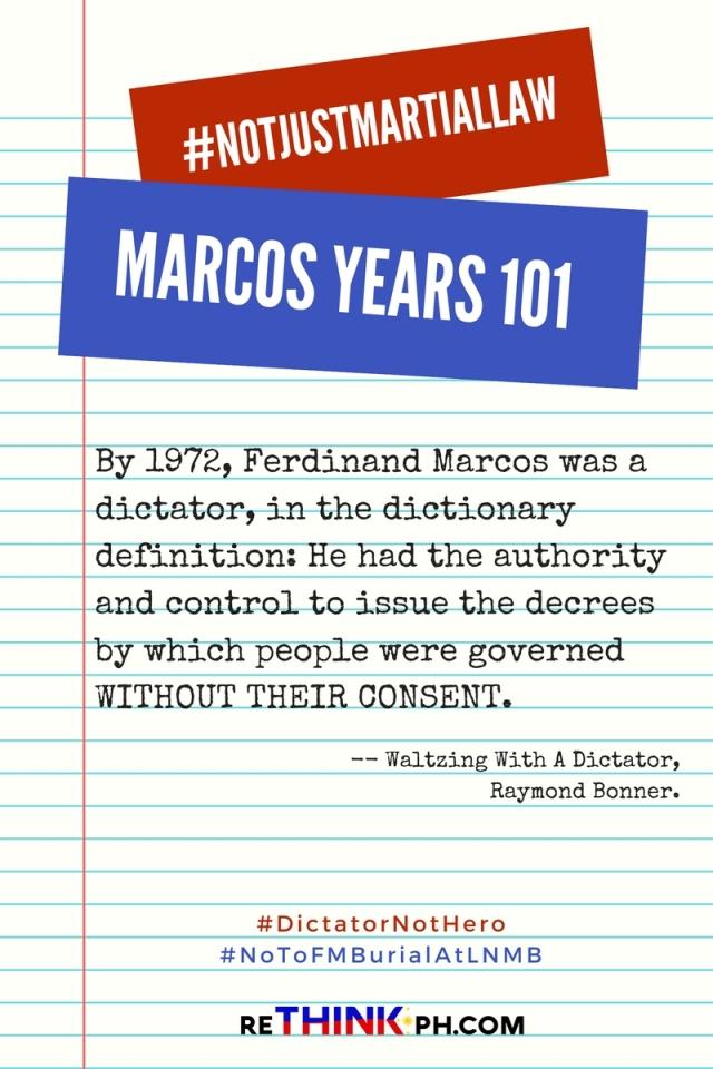 Marcos-Dictator